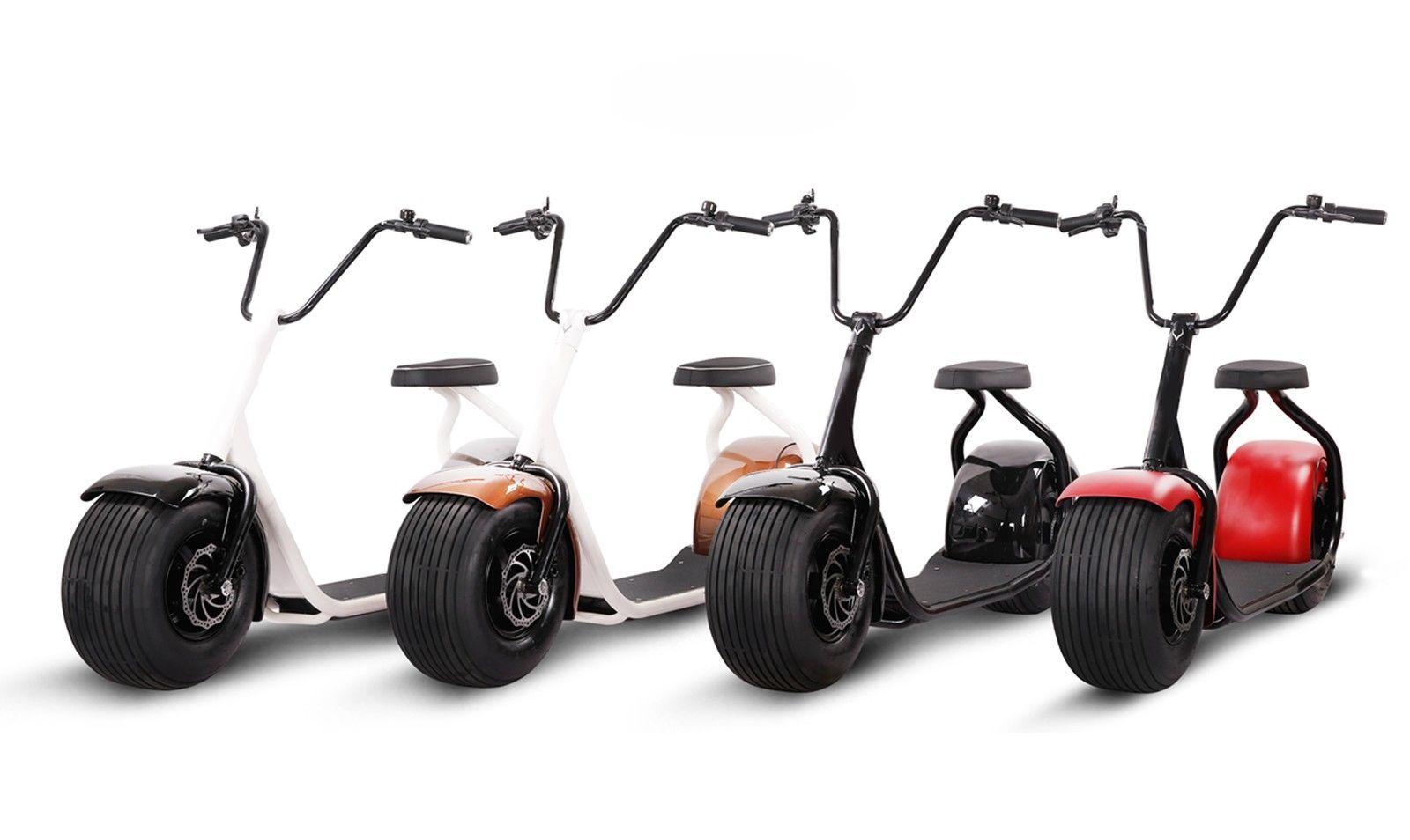 1000w 12ah adult 18x9 5 big fat tire harley electric scooter citycoco seev scooters and tired. Black Bedroom Furniture Sets. Home Design Ideas