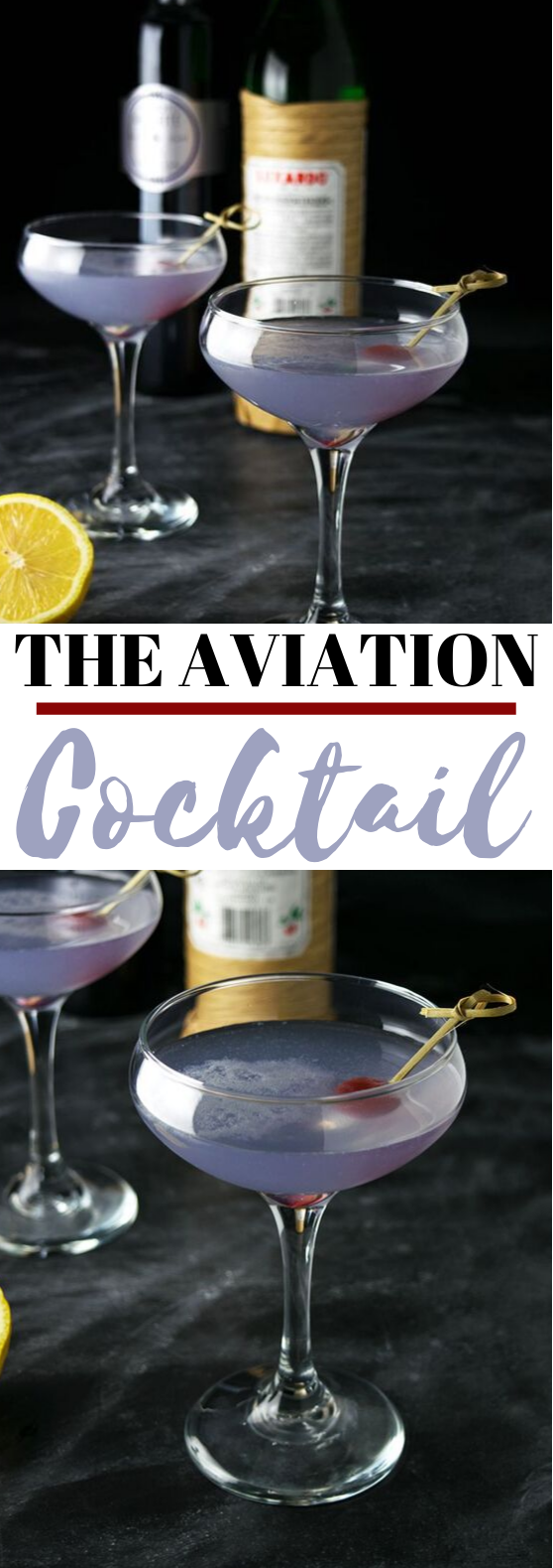Aviation Cocktail #drinks #cocktails