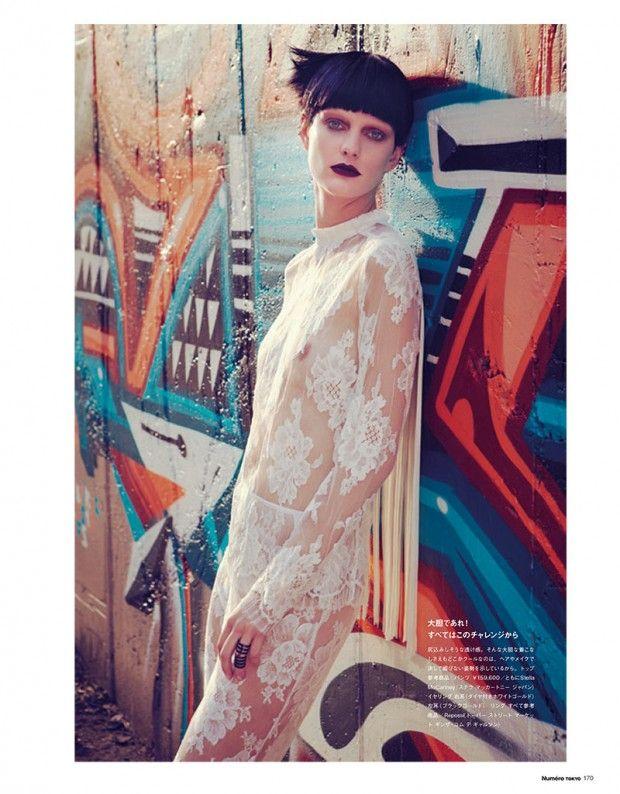 nice NUMÉRO TOKIO | Editorial Janeiro 2013 | Patricia van der Vliet por Sofia Sanchez e Mauro Mongiello