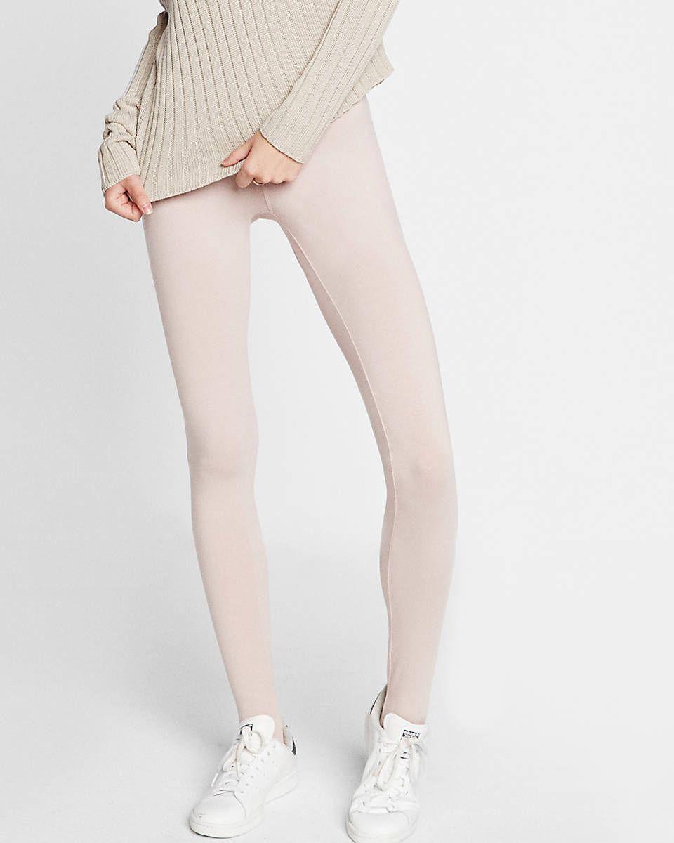 pink stirrup stretch legging