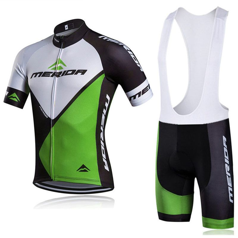 Big Discount 2018 Summer Quick-Dry Racing Bike Cycling Clothing Breathable MTB  Bicycle Clothes MERIDA Men Cycling Jersey Bike Bib Shorts C135 74de76e9a