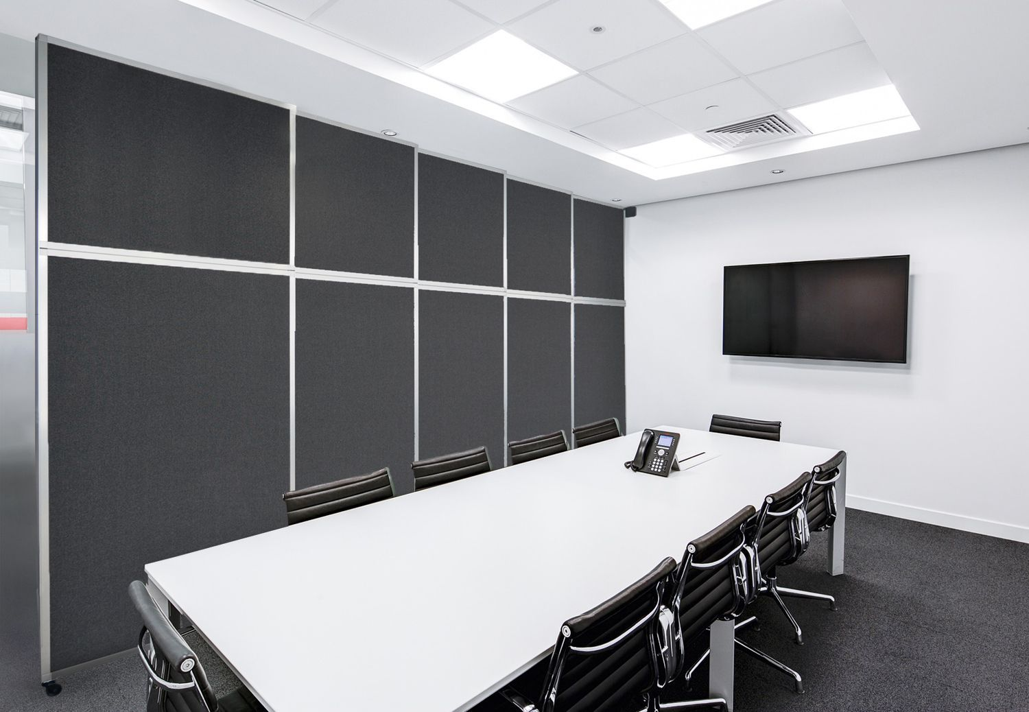 Our extra large room dividers can create modern office privacy