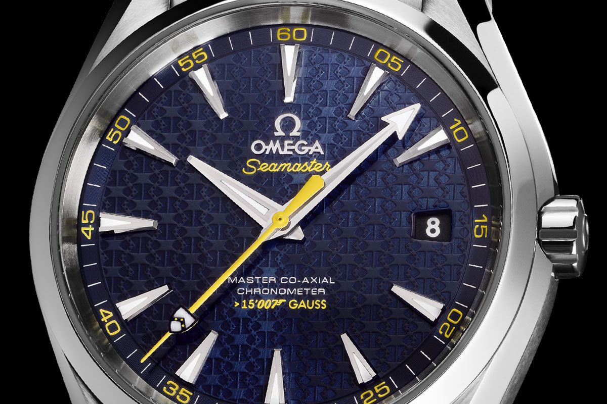 dc120285982 Omega Seamaster Aqua Terra 150m Master Co-Axial James Bond 007 Spectre