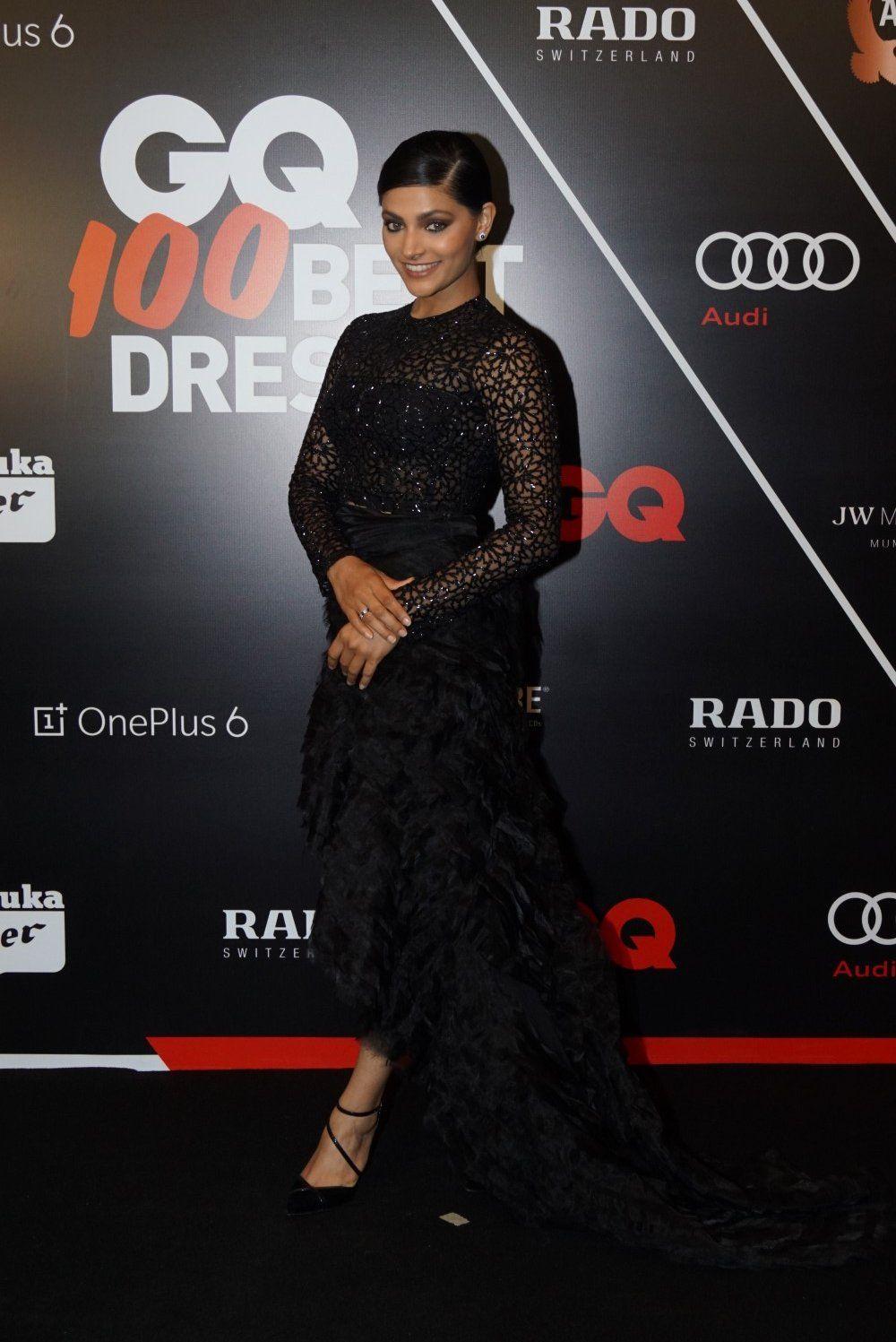 Bollywood News Red Carpet Ceremony Of Gq Best Dressed 2018 Nice Dresses Dresses Indian Dresses