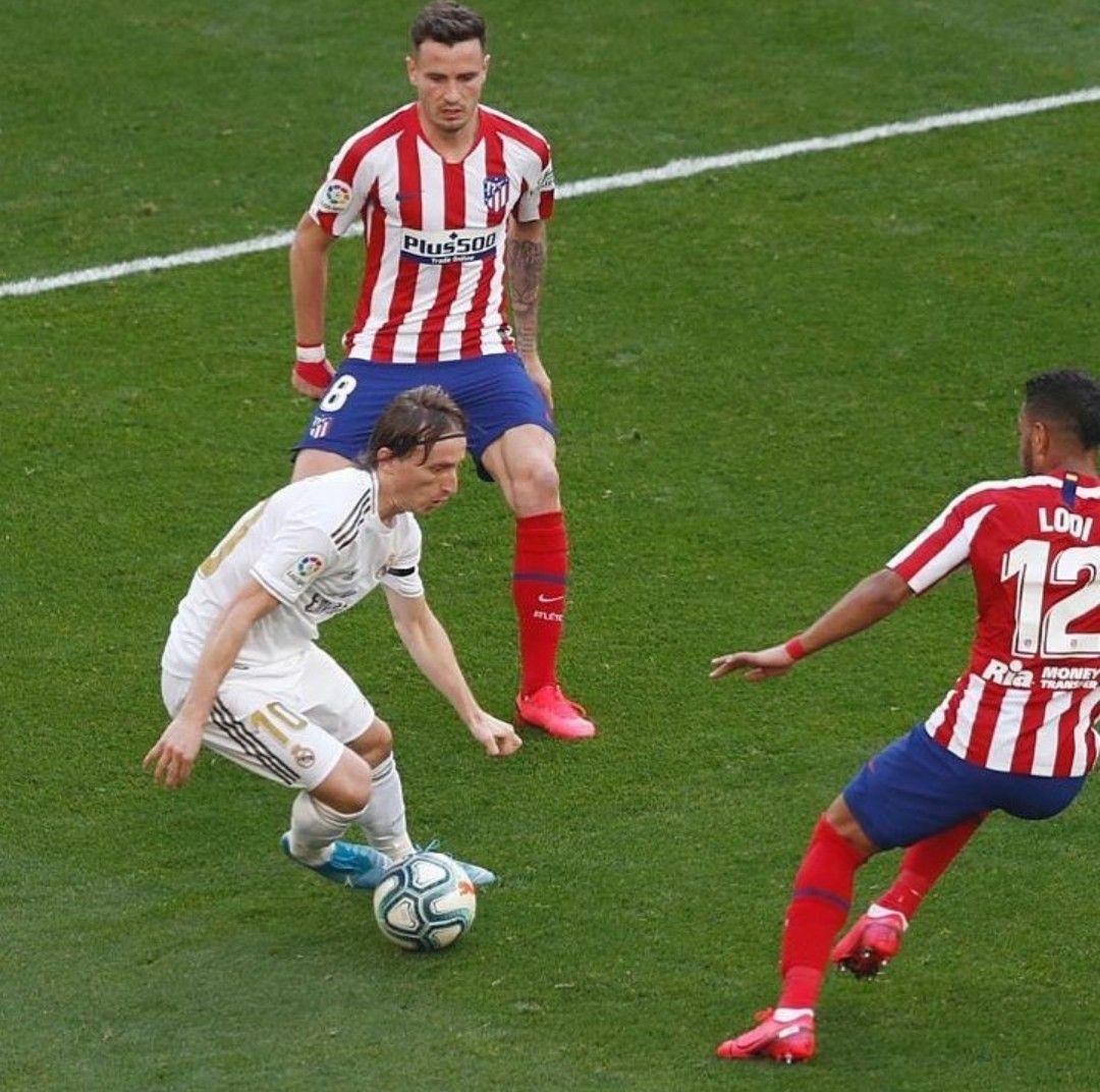 Real Madrid 1 0 Atletico Madrid 1 Feb 2020 In 2020 Real Madrid Madrid Running