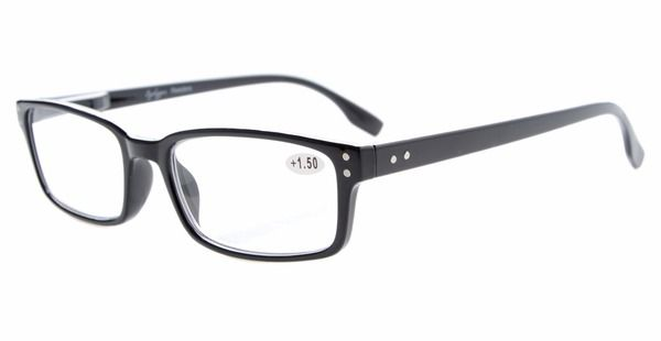 9ab68c1ac84    Click to Buy    R087 Eyekepper Readers Spring Hinge Classic Reading  Glasses   Reading Sunglasses Metal with Plastic Rimmed +0.50----…