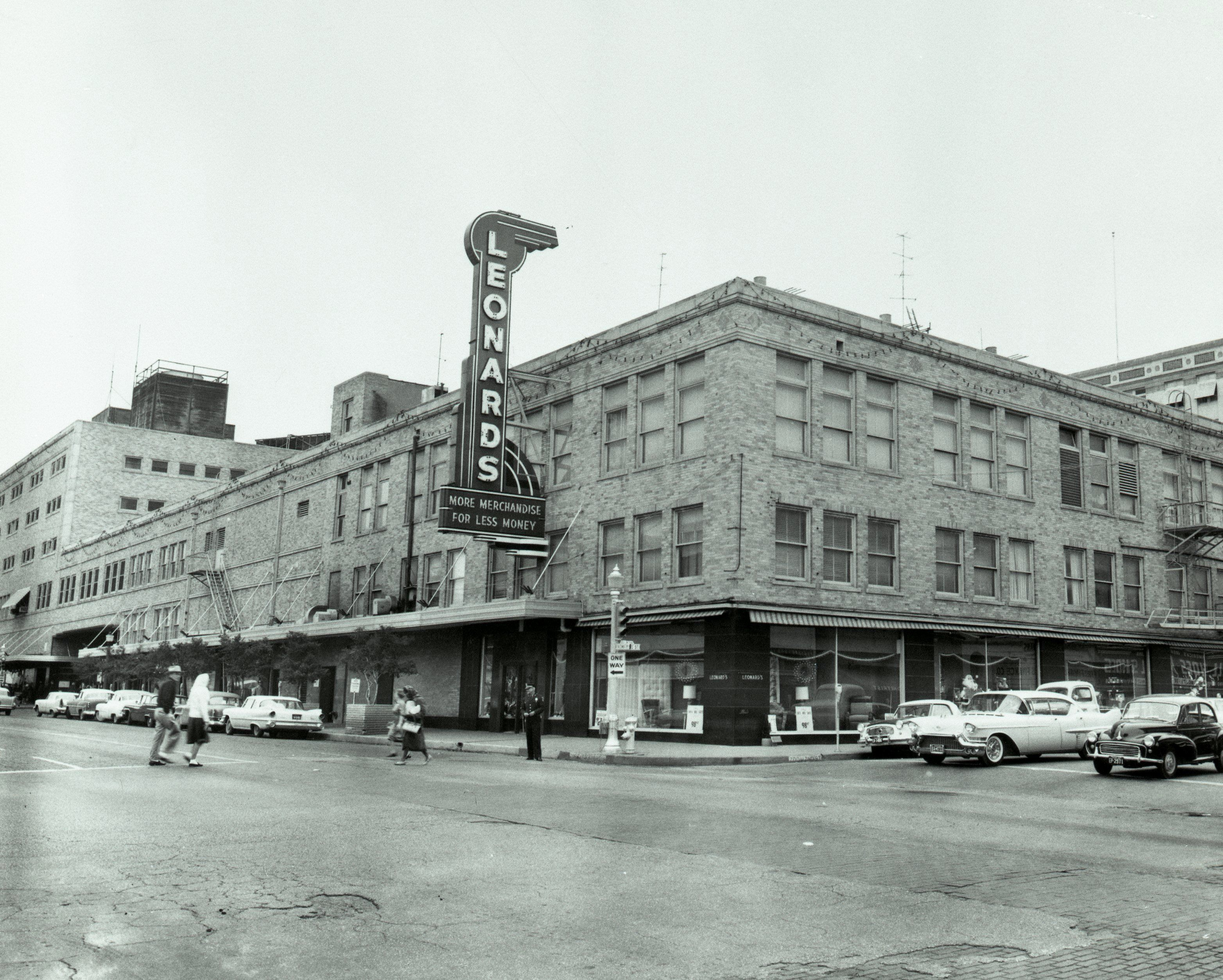 Leonard Brothers Department Store Fort Worth Texas Photos And