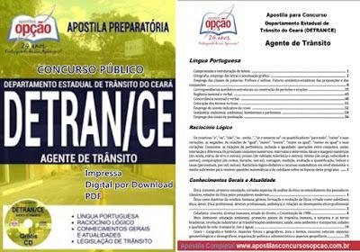 Apostilas Do Concurso Publico Detran Ceara 2017 Concursos Publicos