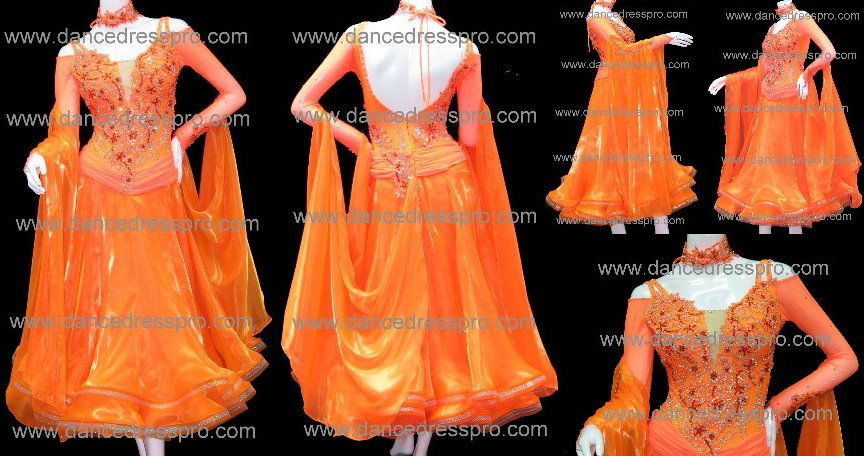 Modern dance dress model no. 1296