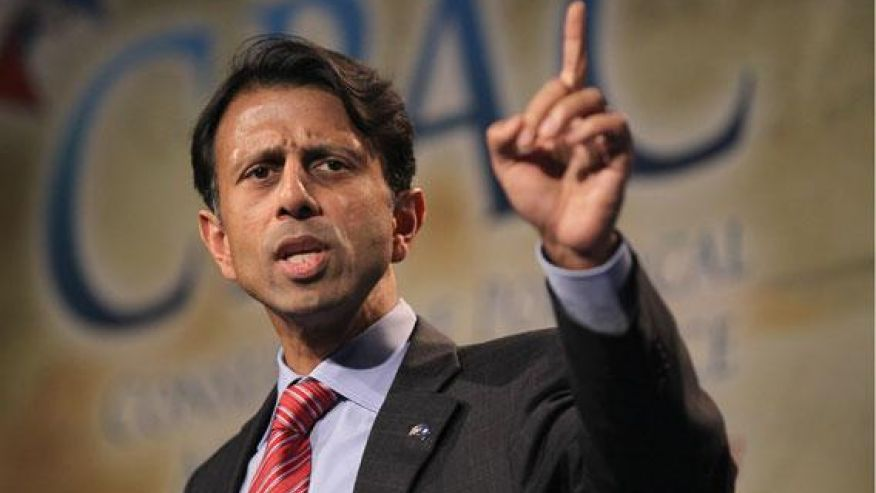 Theocracy watch: Courting Christian conservatives, Louisiana Gov. Bobby Jindal is expected to announce his 2016 presidential run at a prayer rally scheduled for January, 2015.