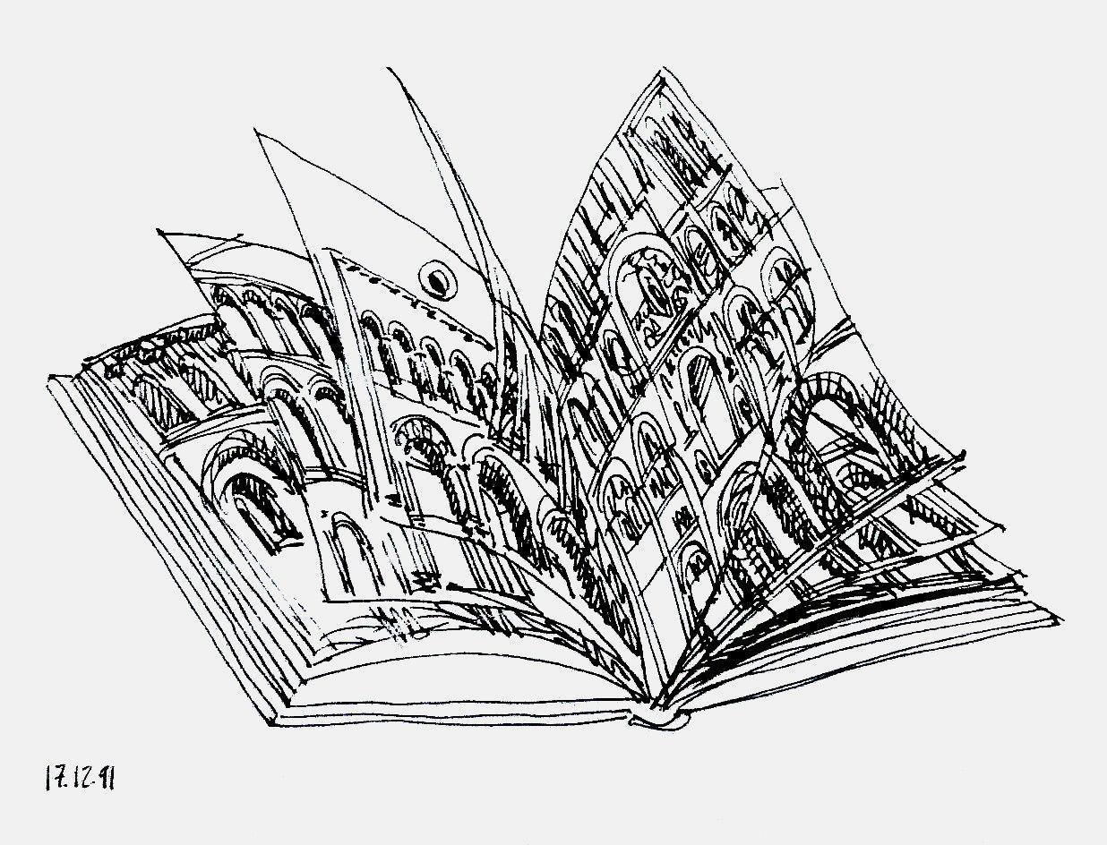 F. Martinuzzi, Impression de ville, 1991.