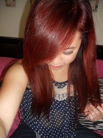 Denises Auburn Hair Hair Auburn Hair Hair Styles Garnier Hair