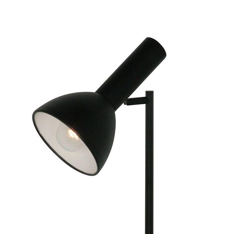 Puristisch designte Stehleuchte Gino in Schwarz Jetzt bestellen unter: https://moebel.ladendirekt.de/lampen/stehlampen/standleuchten/?uid=d050640d-9311-5e8c-8d9c-7382a769f62a&utm_source=pinterest&utm_medium=pin&utm_campaign=boards #stehlampen #leuchten #lampen Bild Quelle: www.lampenwelt.de