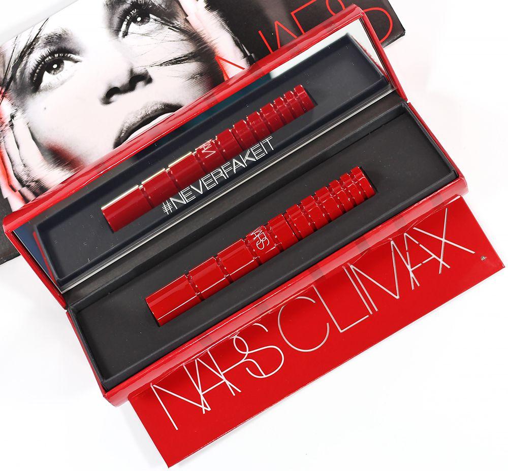 Nars Climax Mascara Swatches Review Mascara Nars Mascara Makeup Brushes Guide