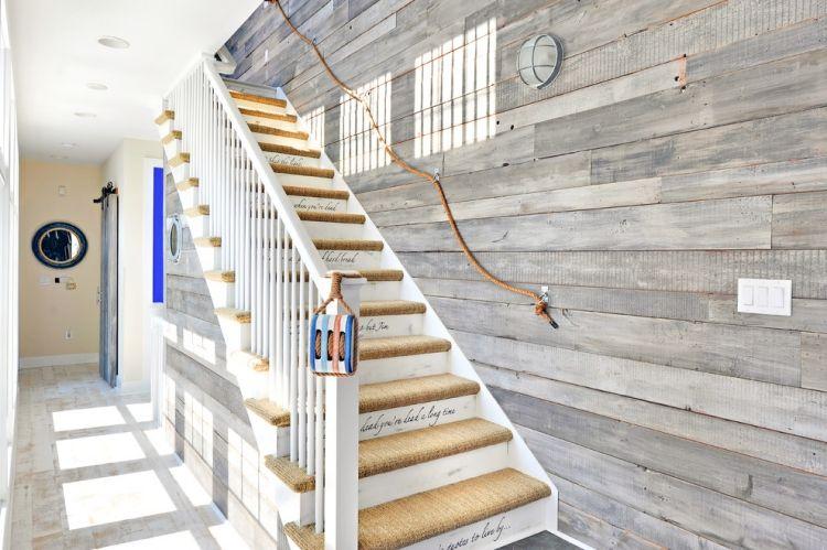 Treppengelander Streichen Holz Home Ideen
