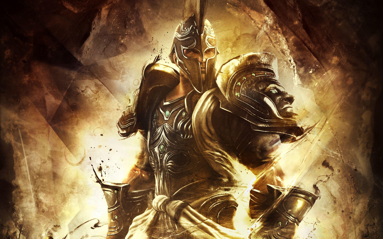 Conceptual Wallpaper Just Because God Of War Armor Of God God