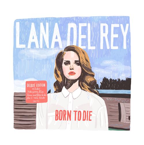 Lana Del Rey Born To Die Blue Jeans Vinyl Album Cover Lana Del Rey Art Lana Del Rey Albums Lana Del Rey