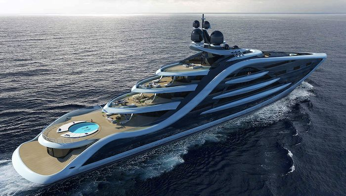 Epiphany Super Yacht Concept The Largest Yacht In The World Yachts