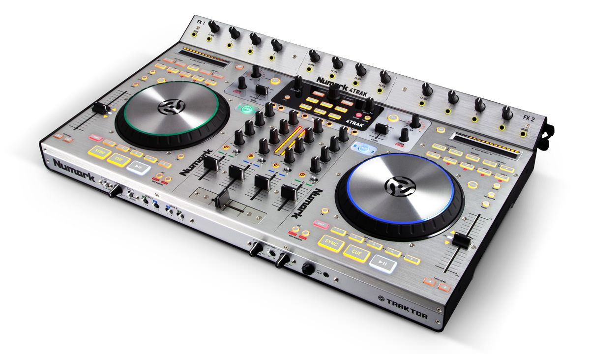 Numark 4Trak review professional USB DJ Controller Digital Music Producer dMp