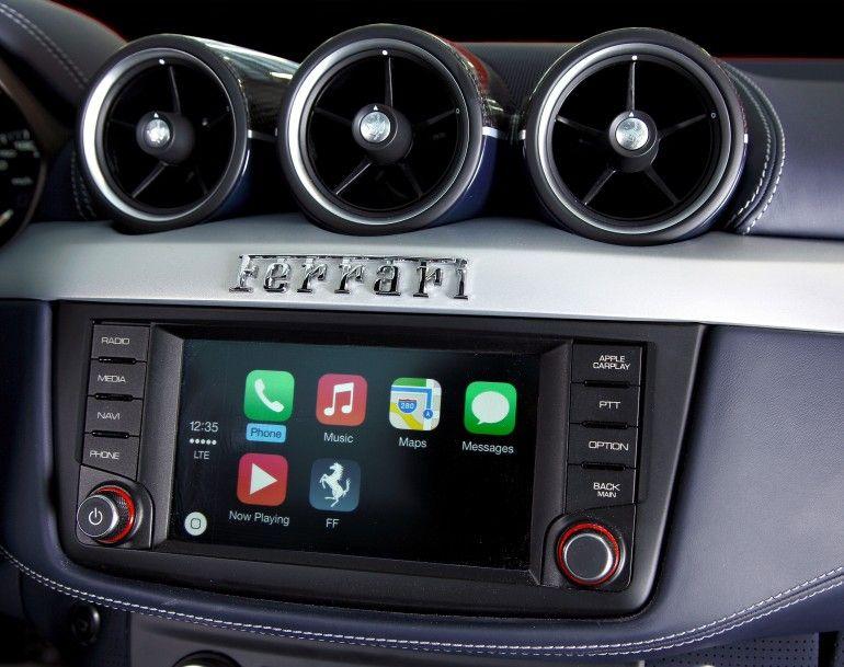 The Ferrari California T infotainment system | Geneva Auto ...