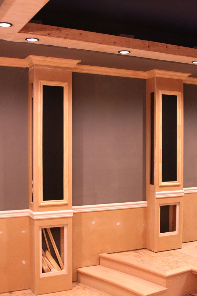 More Ideas Below DIY Home Theater Decorations Basement Rooms Red Seating Small Speakers Luxury