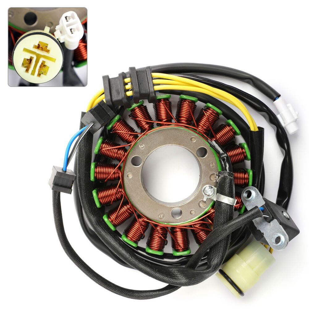 hight resolution of  ebay advertisement magneto stator coil for kawasaki 21003 1343 kvf300 prairie 1999