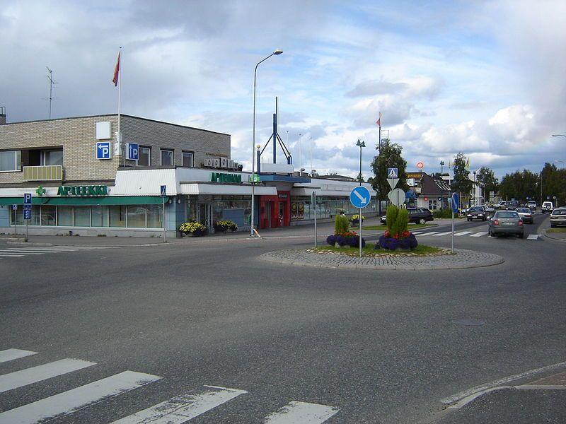 Sodankylän keskustaa