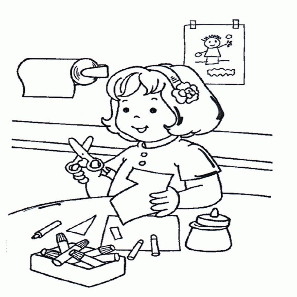 10 Dibujos De Escuelas Para Colorear Gratis Páginas Para