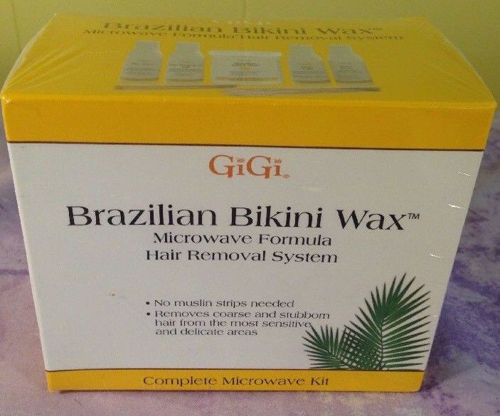 Brazilian bikini wax microwave formula