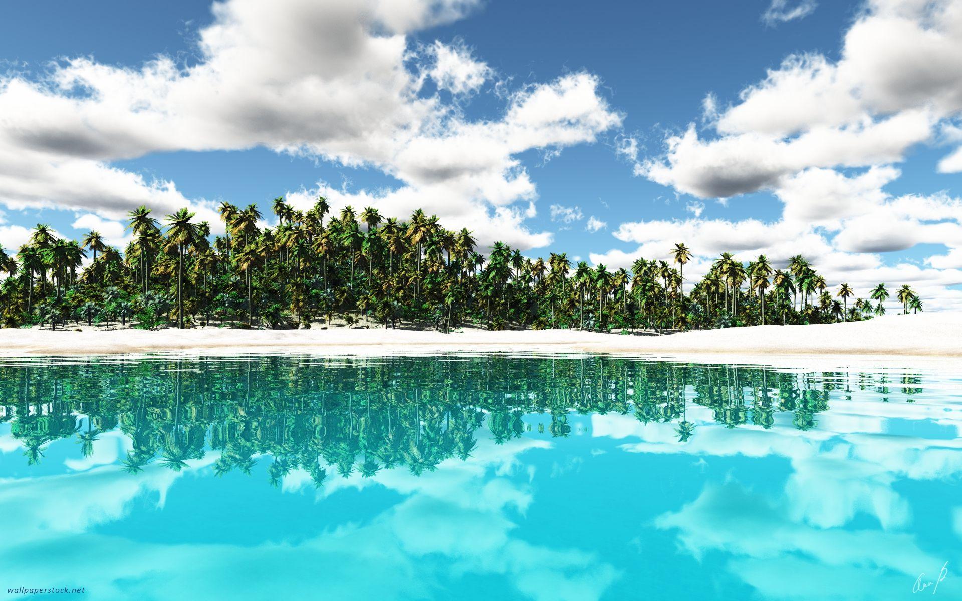 Tropical Island Wallpaper Island Wallpaper Tropical Island Beach Beach Wallpaper Desktop wallpaper beach paradise