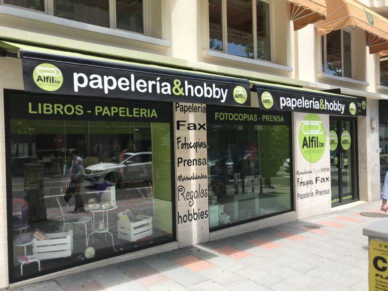 Nueva Papelería En General Martinez Campos Madrid Papelería Diseño De Tienda Material De Oficina