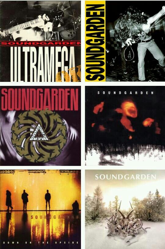 Soundgarden albums, seems like there should be more.