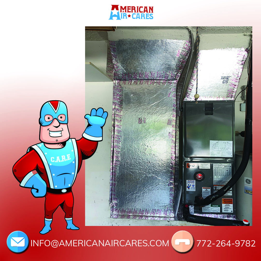 Rheem air handler installation. This is how we work. Give