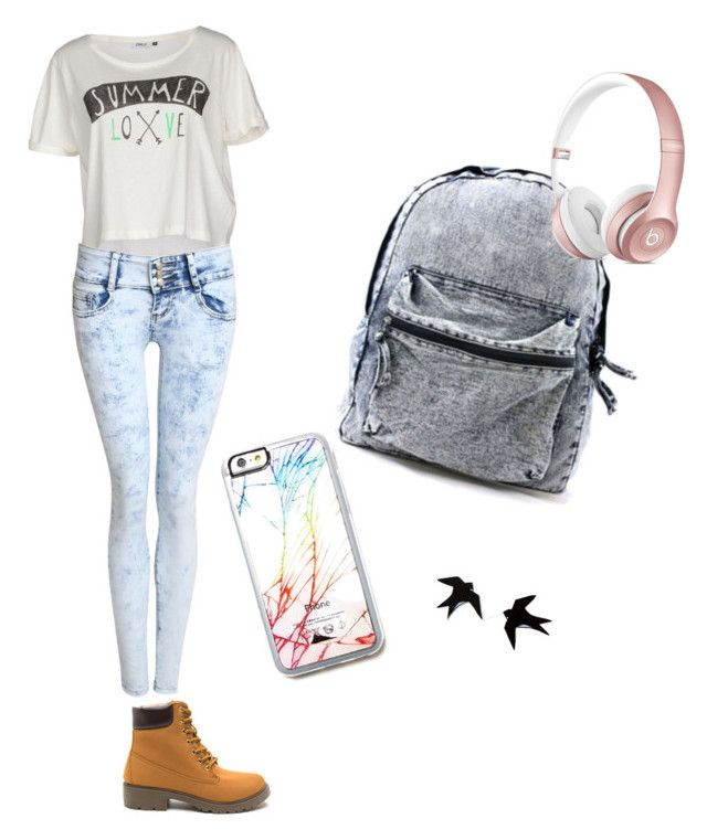 """""""No idea"""" by alexis-butcher-1 ❤ liked on Polyvore featuring ONLY, Pilot and Free People"""