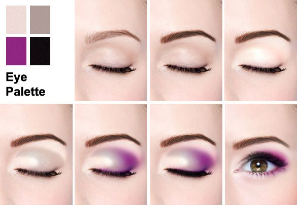 twilight inspired smokey makeup tutorial beauty and beyond rh pinterest co uk hooded eye makeup diagram smokey eye makeup diagram