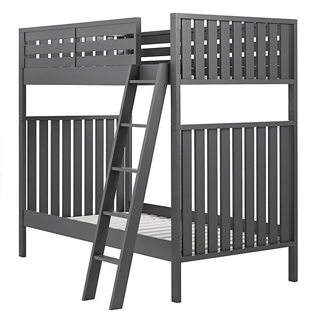 Shop Cargo Charcoal Twin Bunk Bed When it comes to furniture thats