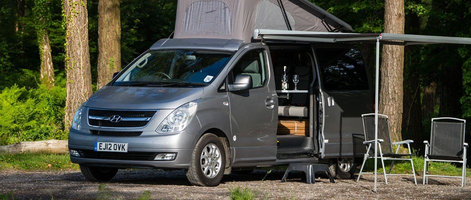 Wellhouse Leisure i800 Camper : Hyundai | Capsule Homes n ...