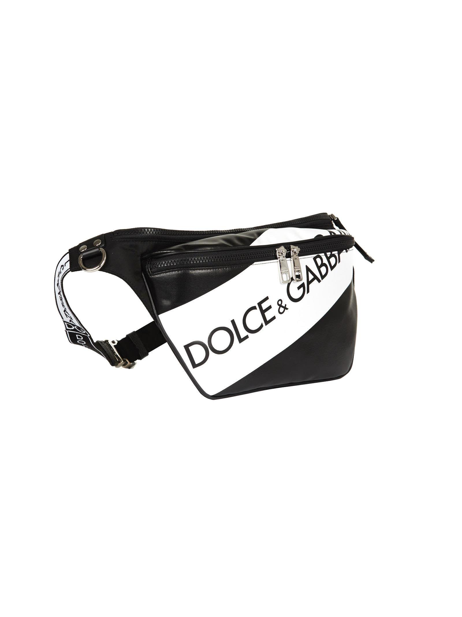 5b5adf9e1fbe DOLCE   GABBANA LOGO PANEL BELT BAG.  dolcegabbana  bags  leather ...