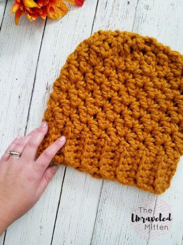 Wildwood Chunky Crochet Beanie | crochet | Pinterest