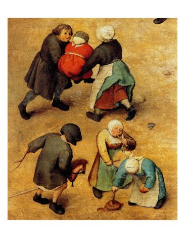 Google Image Result for http://imgc.allpostersimages.com/images/P-473-488-90/65/6531/IC64100Z/posters/pieter-breughel-the-elder-children-s-games-detail.jpg