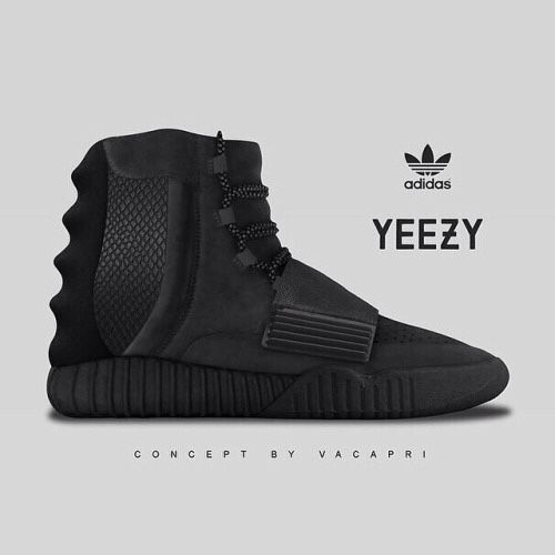 1778d68fe34 Adidas high top sneakers. Yeezy
