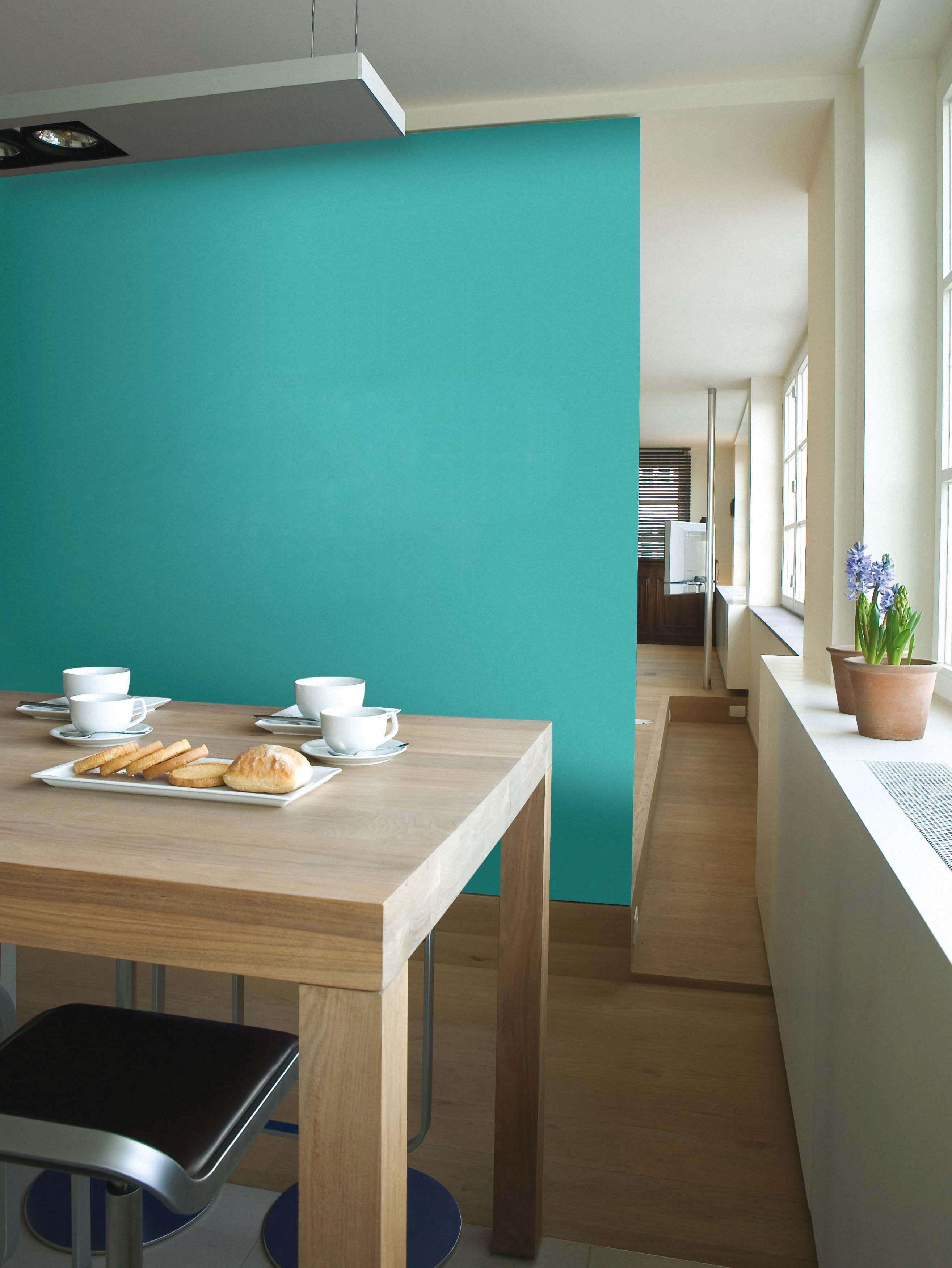 Salon estilo contemporaneo color turquesa marron blanco - Banos turquesa y marron ...