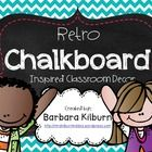 This is the ultimate chalkboard inspired classroom decor set!  Get ready to have a whole lot of cuteness displayed within your classroom and there ...