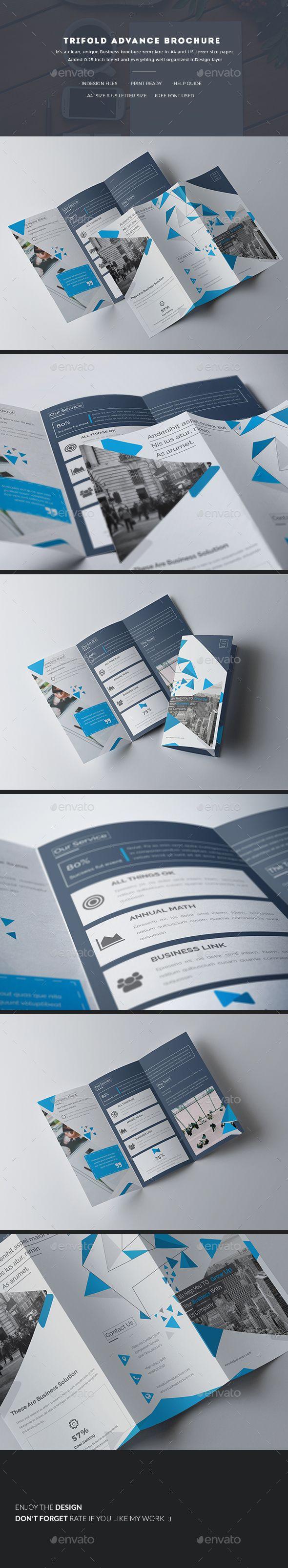 Trifold Advance Brochure | Pinterest