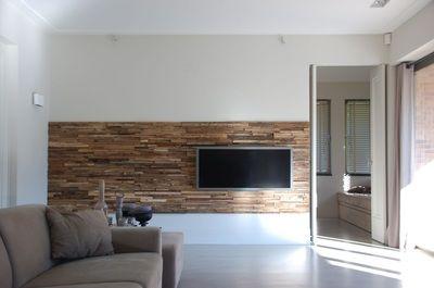Réalisation des panneaux muraux en bois naturel pour la décoration ...