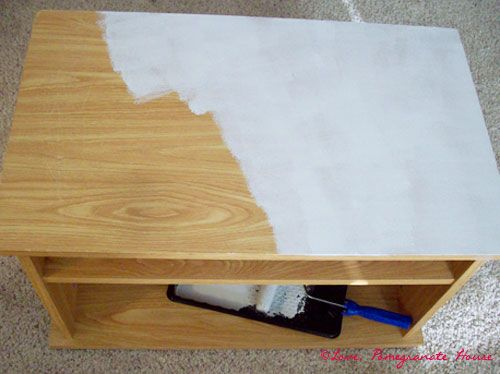 How To Paint Laminate Furniture @Lynne G Thank You Thank You Thank You!