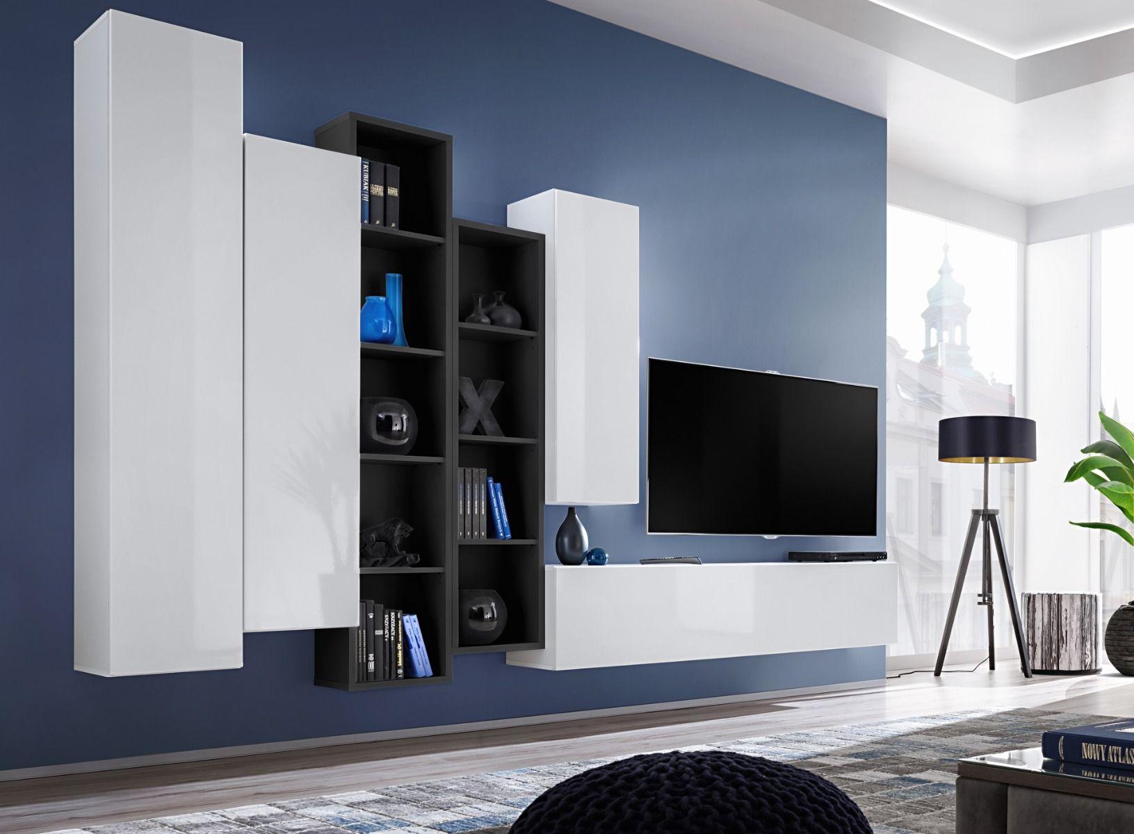 Meuble Tv Mural Meuble De Television Meuble Tv Meuble Tele Meuble Tv Hifi Meuble T Living Room Wall Units Tv Wall Unit
