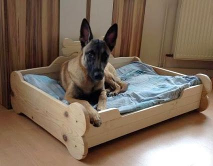 diy pet projects a dog bed made with love http www 1 2. Black Bedroom Furniture Sets. Home Design Ideas