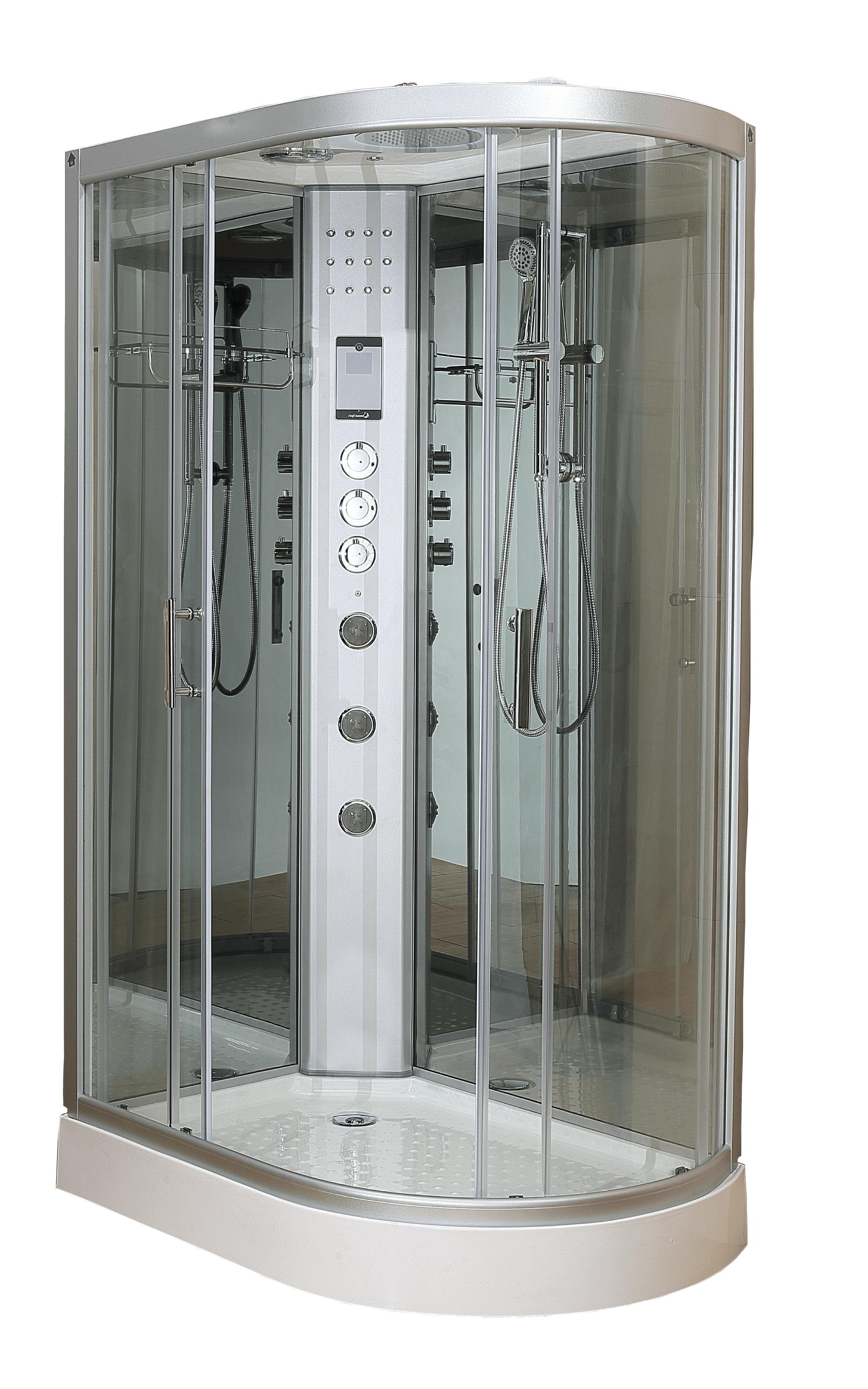 1200 Left Shower Cabinet Shower Cabin Steam Showers Shower Mirror