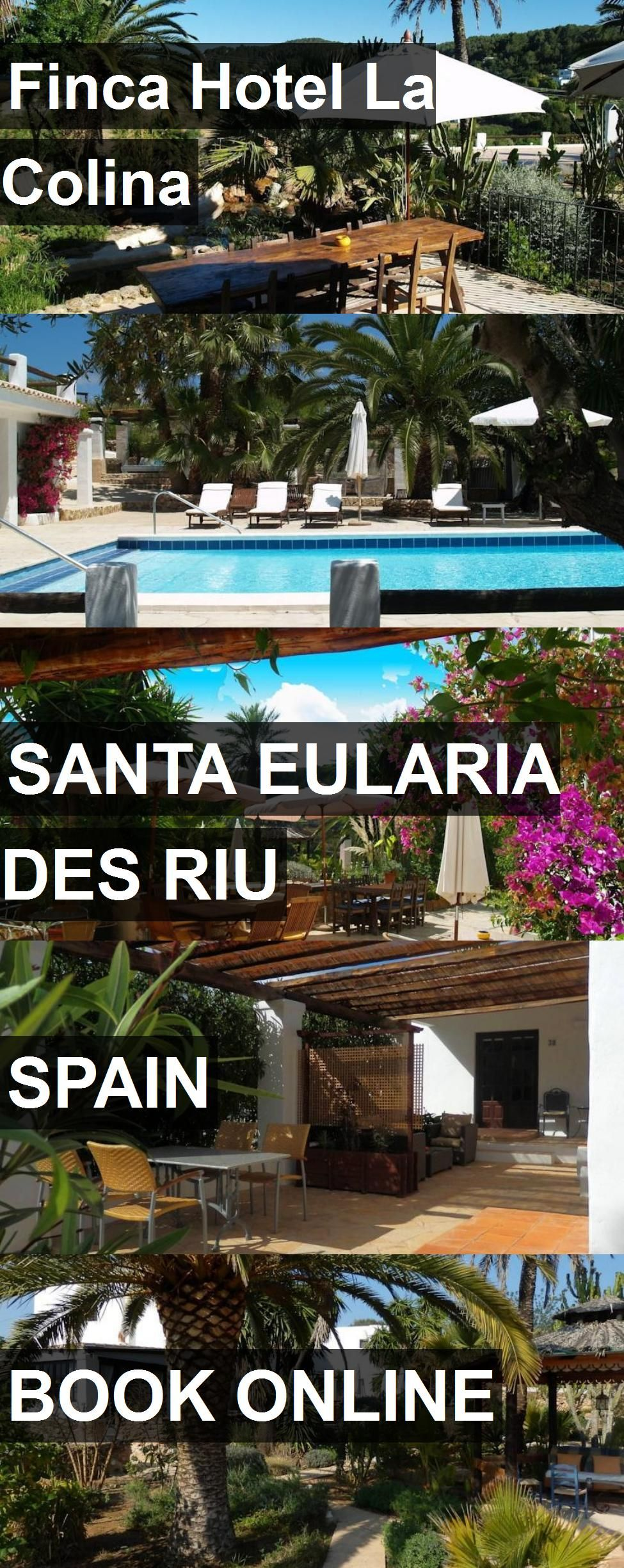 Finca Hotel La Colina in Santa Eularia des Riu, Spain. For more information, photos, reviews and best prices please follow the link. #Spain #SantaEulariadesRiu #travel #vacation #hotel
